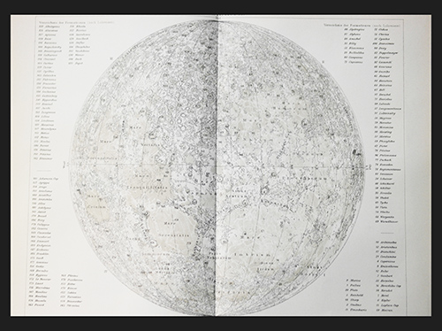 Mond Lithografie