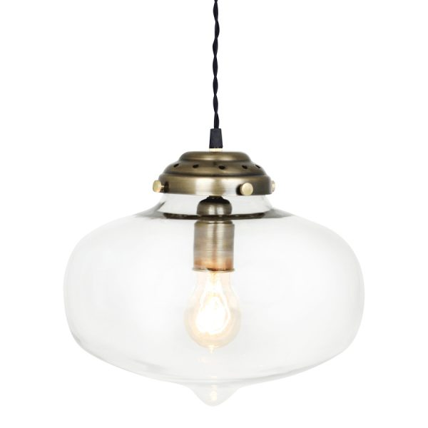 glaslampe