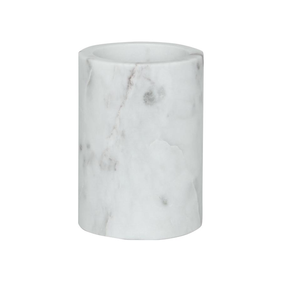marmorbecher weiß