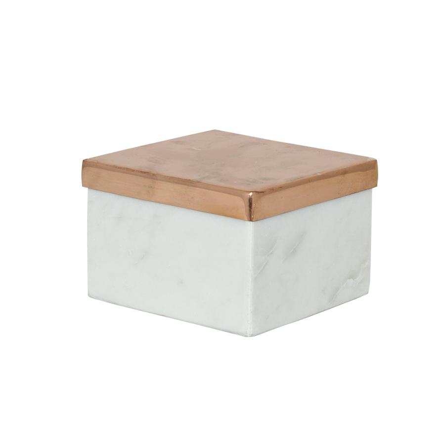 marmorbox weiß