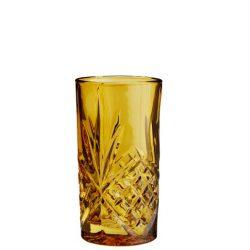 gyldenes geschliffenes glas
