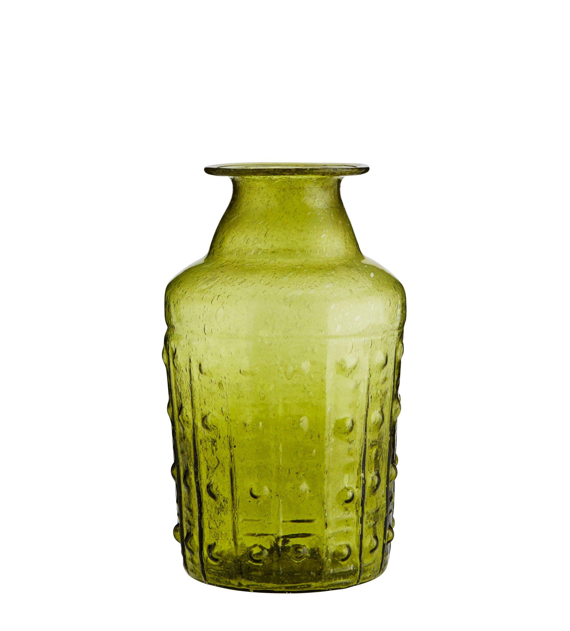 gro e vase aus recyclingglas popshop skandinavische. Black Bedroom Furniture Sets. Home Design Ideas