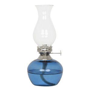 blaue-petroliumlampe