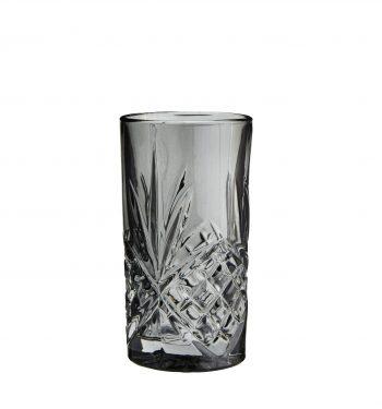 graues trinkglas