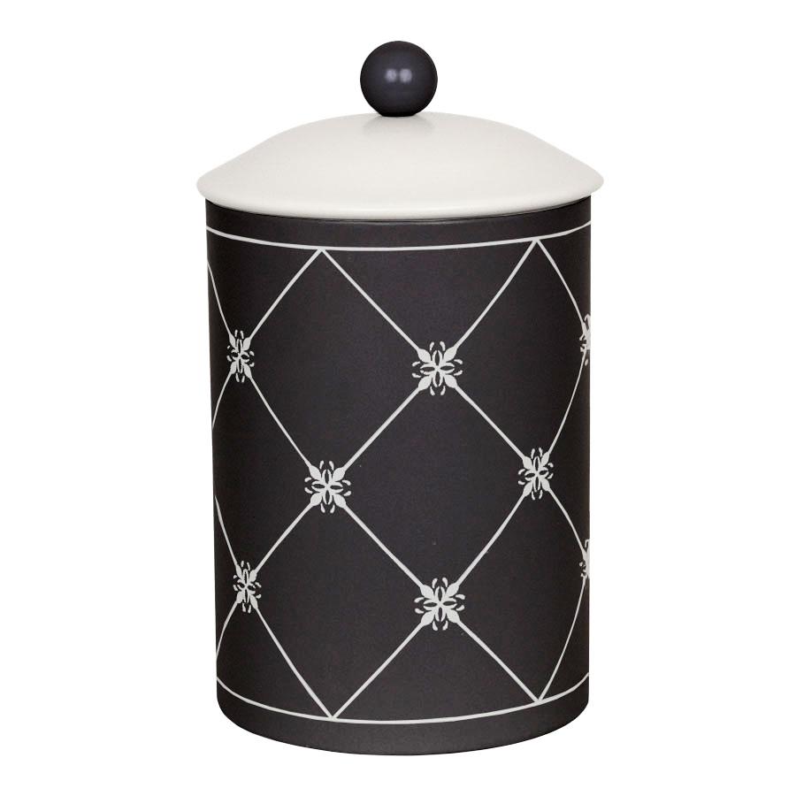 Schwarz-weiße Dose - Popshop - skandinavische Einrichtung