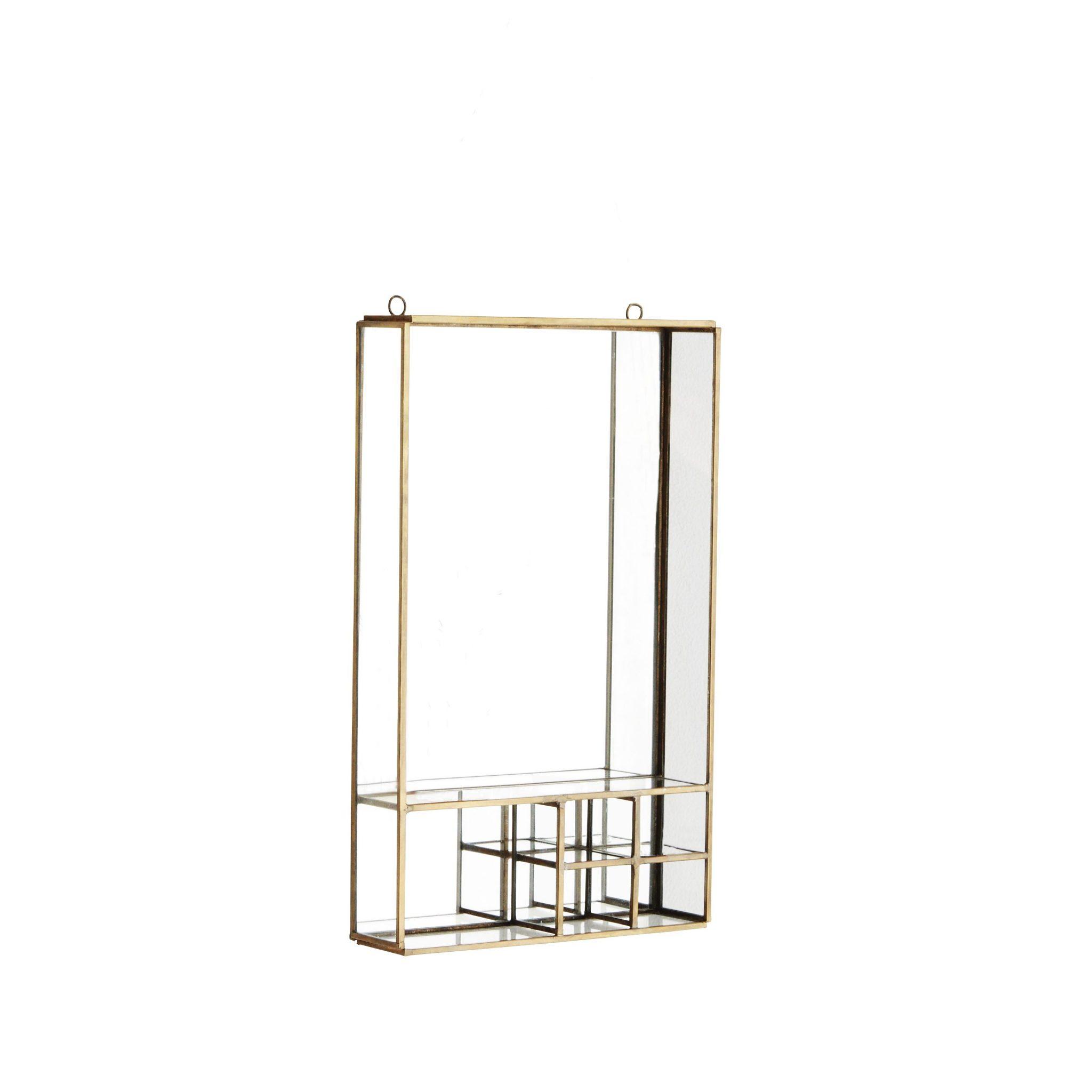 spiegel mit f chern popshop skandinavische einrichtung. Black Bedroom Furniture Sets. Home Design Ideas