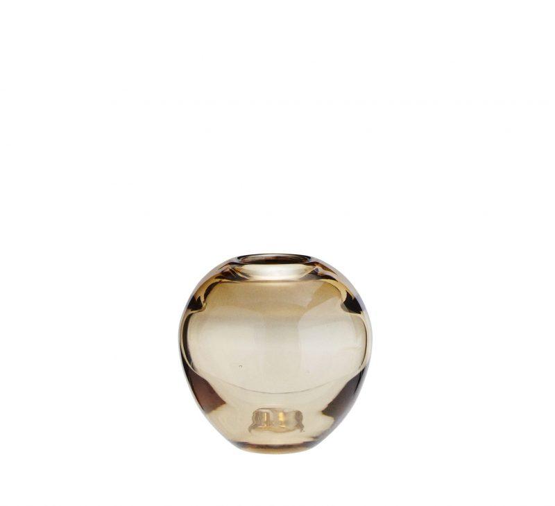 Kleine Vase cognac