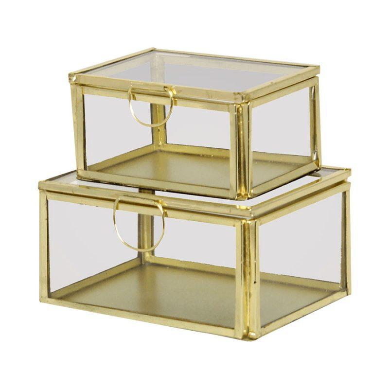 Glasbox klein Set
