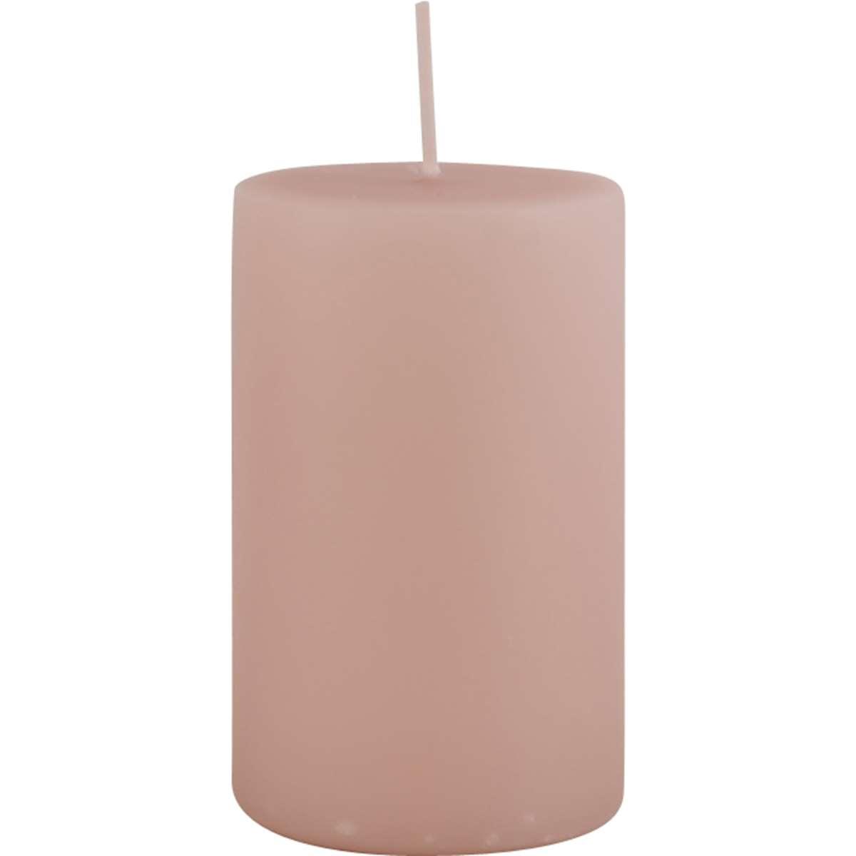 Stumpenkerze rosa