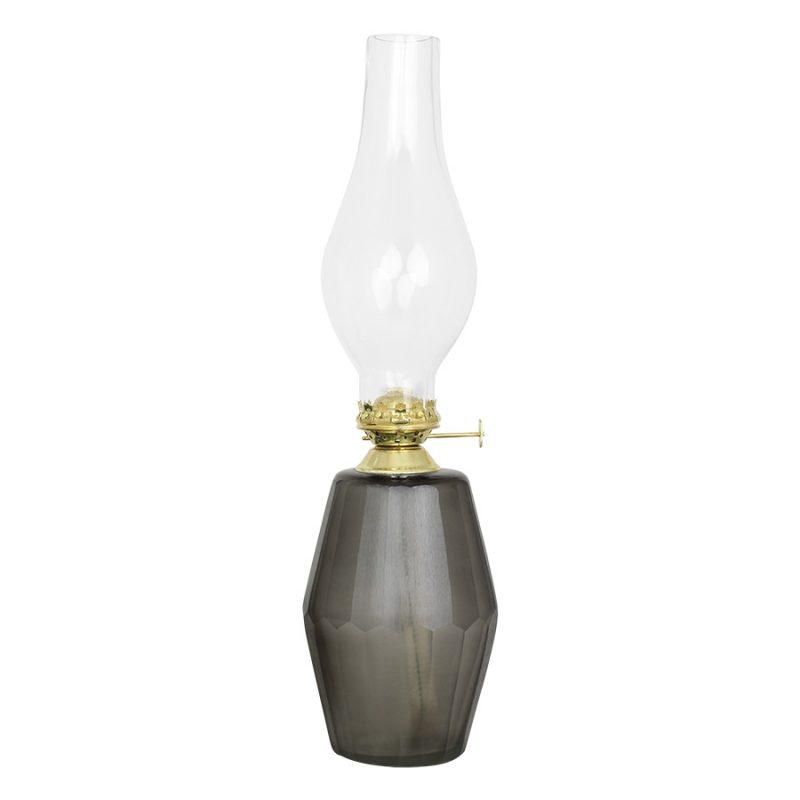 Petroleumlampe grau