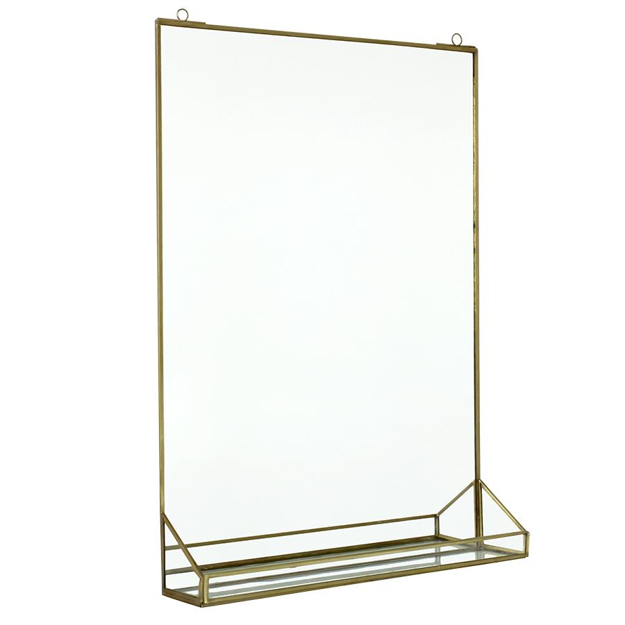 spiegel mit ablage popshop skandinavische einrichtung. Black Bedroom Furniture Sets. Home Design Ideas