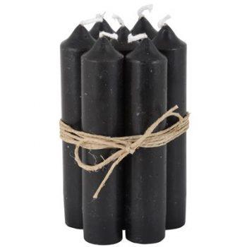 stabkerze schwarz