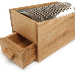 Käsereibe mit Auffang-Schublade