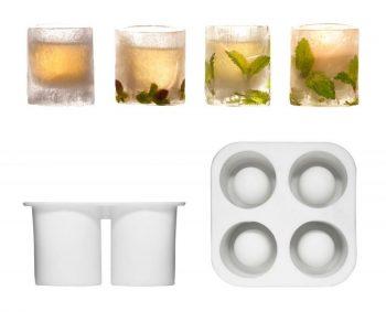 Gläser aus Eis