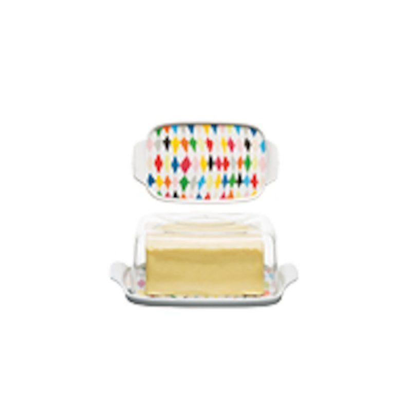 Butterdose mit schönem Muster