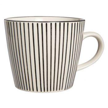 Tasse mit Streifen