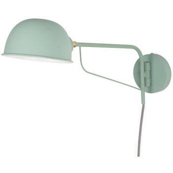 Grüne Wandlampe