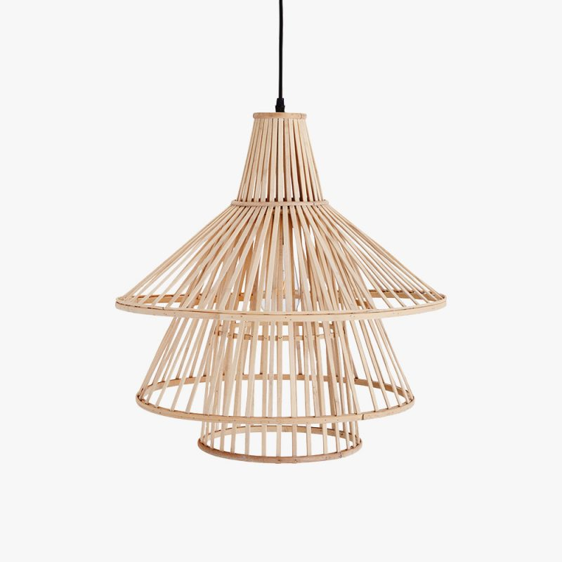 deckenlampe aus bambus popshop skandinavische einrichtung. Black Bedroom Furniture Sets. Home Design Ideas