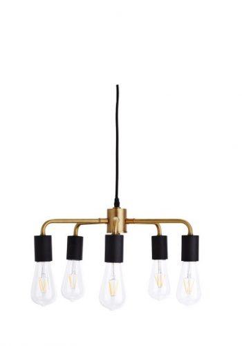 Deckenlampe schwarz/gold