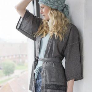 Grauer Kimono L/XL