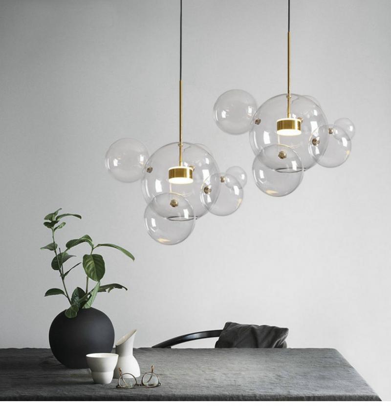 bubble lampe