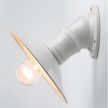 Wand Keramik Lampe einfach elegant