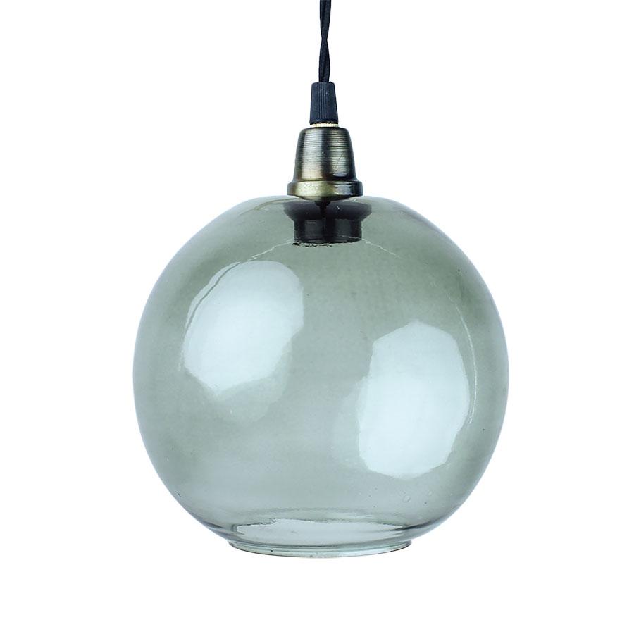 grüne glaslampe glas E14