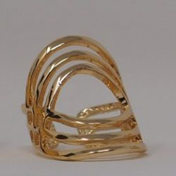 vergoldeter ring