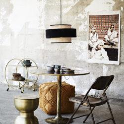 Rattan Lampe